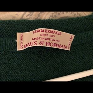 Other - Lemmermayer 100% Alpaca Sweater